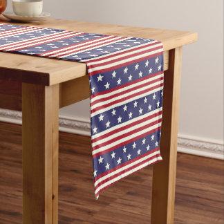 Caminho De Mesa Médio Bandeira patriótica dos EUA da americana da