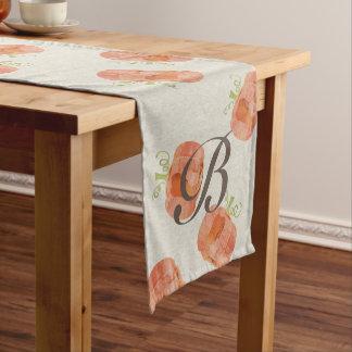 Caminho De Mesa Médio Corredor customizável da mesa da abóbora da