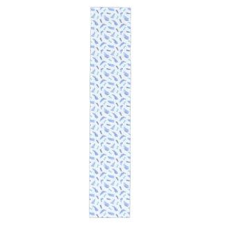 Caminho De Mesa Médio Corredor médio da mesa dos pontos azuis da