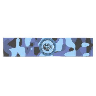 Caminho De Mesa Pequeno As forças armadas azuis camuflam com granada