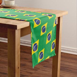 Caminho De Mesa Pequeno Bandeira brasileira