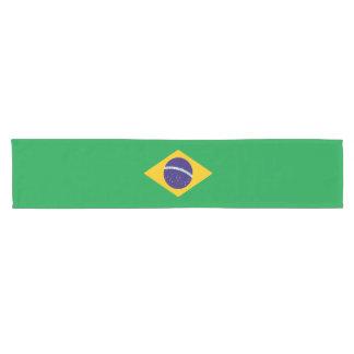 Caminho De Mesa Pequeno Bandeira de Brasil