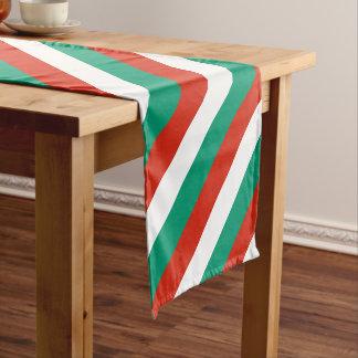 Caminho De Mesa Pequeno Bandeira de Bulgária ou de búlgaro