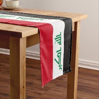 Caminho De Mesa Pequeno Bandeira de Iraque
