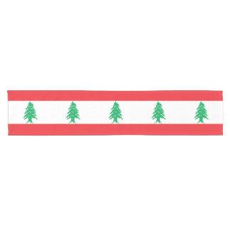 Caminho De Mesa Pequeno Bandeira de Líbano