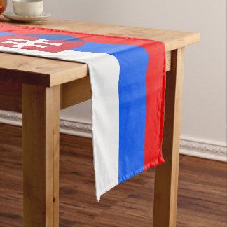 Caminho De Mesa Pequeno Bandeira eslovaca
