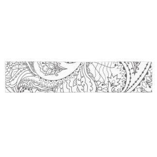 Caminho De Mesa Pequeno Borboleta floral decorativa - o múltiplo colore o