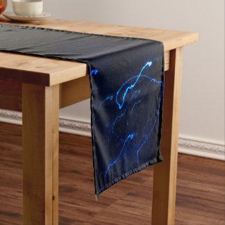 Caminho De Mesa Pequeno Chemin de mesa de 35,5 cm x 183 cm Efeito luz