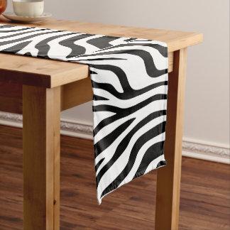 Caminho De Mesa Pequeno Chemin de mesa de 35,5 cm x 183 cm Zebra