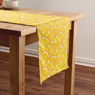 Caminho De Mesa Pequeno Corredor alaranjado da mesa do citrino do verão
