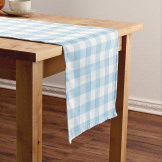 Caminho De Mesa Pequeno Corredor azul e branco da luz - do guingão da mesa