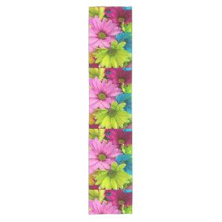 Caminho De Mesa Pequeno corredor colorido na moda da mesa da flor das