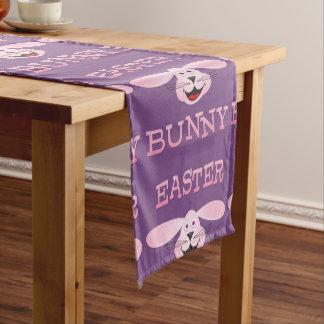 Caminho De Mesa Pequeno Corredor cor-de-rosa da mesa do coelhinho da