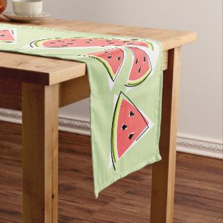 Caminho De Mesa Pequeno Corredor da mesa da Linha Verde da melancia
