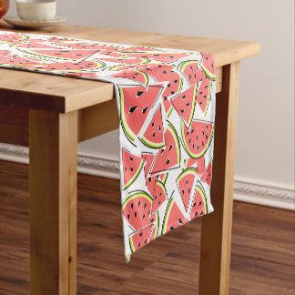 Caminho De Mesa Pequeno Corredor da mesa da melancia