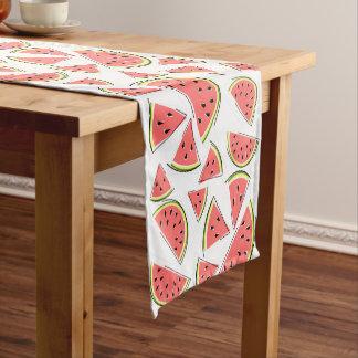 Caminho De Mesa Pequeno Corredor da mesa da melancia multi