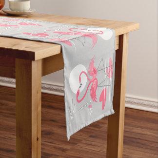 Caminho De Mesa Pequeno Corredor da mesa do amor do flamingo