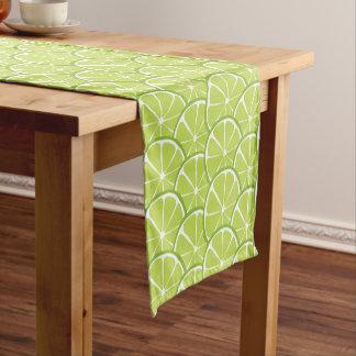Caminho De Mesa Pequeno Corredor da mesa do limão do citrino do verão