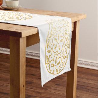 Caminho De Mesa Pequeno Corredor da mesa do ovo da páscoa do ouro