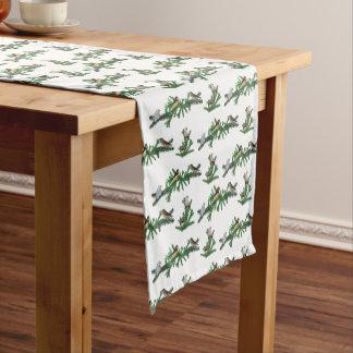 Caminho De Mesa Pequeno Corredor da mesa do partido do passarinho de zebra
