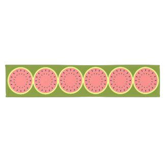 Caminho De Mesa Pequeno Corredor da mesa do rosa da melancia
