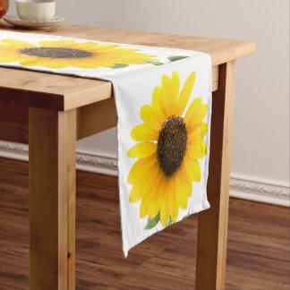 Caminho De Mesa Pequeno Corredor ensolarado da mesa do girassol