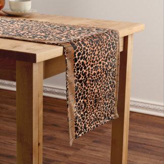 Caminho De Mesa Pequeno Corredor luxuoso da mesa do leopardo