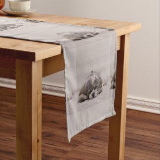 Caminho De Mesa Pequeno Corredor personalizado da mesa do tzu de Shih, cão