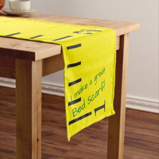 Caminho De Mesa Pequeno Da cama do Lenço fita métrica amarela gigante do