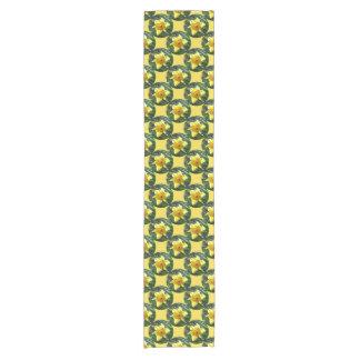 Caminho De Mesa Pequeno Felz pascoa! Daffodil amarelo 02.3_rd