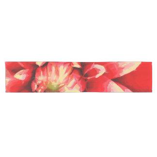 Caminho De Mesa Pequeno Flor vermelha grande