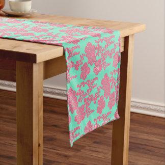 Caminho De Mesa Pequeno Impressão floral japonês - corredor da mesa do