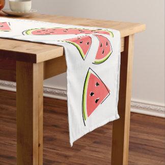 Caminho De Mesa Pequeno Linha corredor da melancia da mesa
