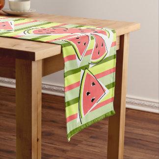 Caminho De Mesa Pequeno Linha corredor da melancia da mesa da listra
