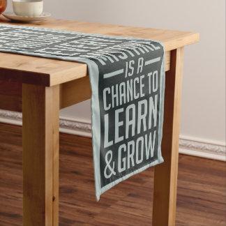 Caminho De Mesa Pequeno NUNCA DÊ ACIMA o corredor inspirador da mesa