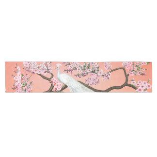 Caminho De Mesa Pequeno Pavão da flor de cerejeira