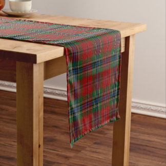 Caminho De Mesa Pequeno Tartan MacLean moderno escocês de Maclean de Duart
