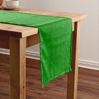 Caminho De Mesa Pequeno Textura verde das canvas