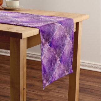 Caminho De Mesa Pequeno Violeta abstrata