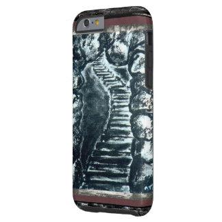 Caminho de pedra capa tough para iPhone 6