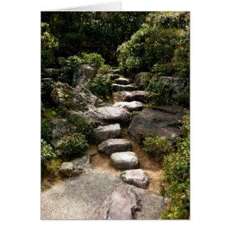 Caminho-Keigo-NY de pedra Cartão