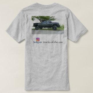 Caminhões levantados camiseta