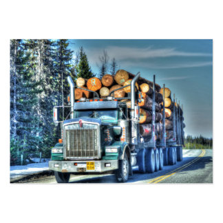 Caminhões para camionistas & Caminhão-amantes Cartão De Visita Grande