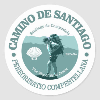 Camino de Santiago Adesivo