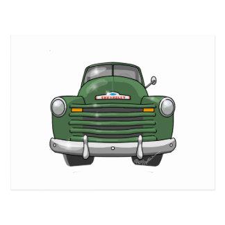 Camionete 1948 de Chevrolet Cartão Postal