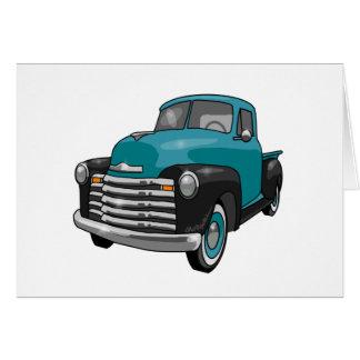 Camionete 1951 de Chevrolet Stepside Cartão