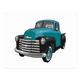 Camionete 1951 de Chevrolet Stepside Cartao Postal