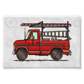 Camionete bonito impressão de foto