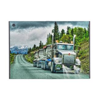 Camionistas de prata camião & estrada do cascalho iPad mini capa