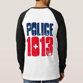 Camisa 1013 da polícia